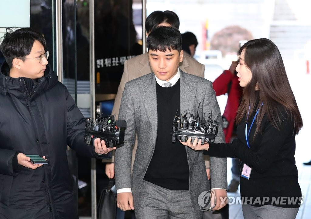 BIGBANG前成員勝利再接受逮捕必要性審查