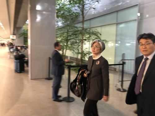 韓外長康京和抵美 明將出席韓美外長會