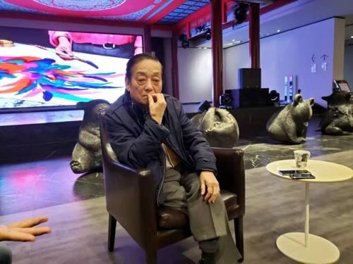 中國藝術大師韓美林:有意在韓辦現代美展