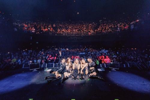 女團ITZY洛杉磯開唱啟動美國巡演