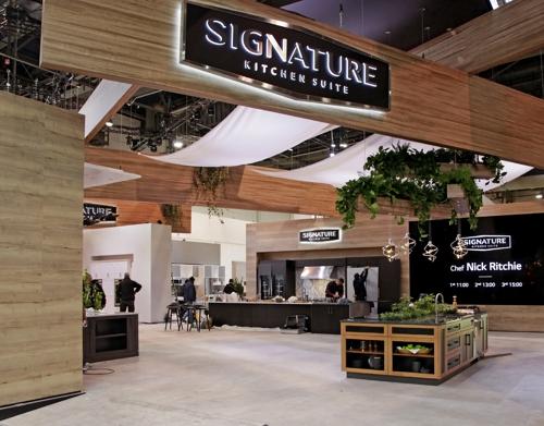 三星LG產品亮相2020美國國際廚衛展
