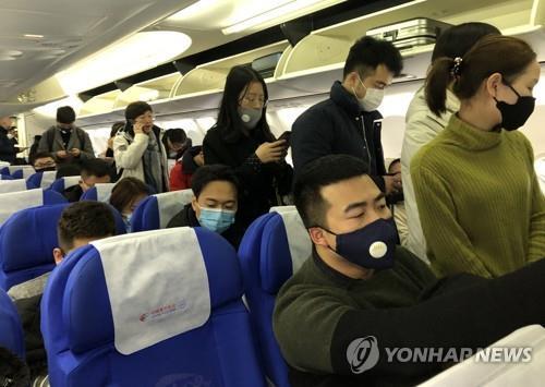 南韓或30日安排包機從武漢撤僑