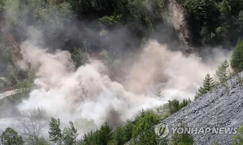朝鮮豐溪�堮痐l試驗場附近再現天然地震