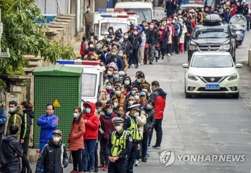 韓駐滬領館向僑民分發3萬隻口罩