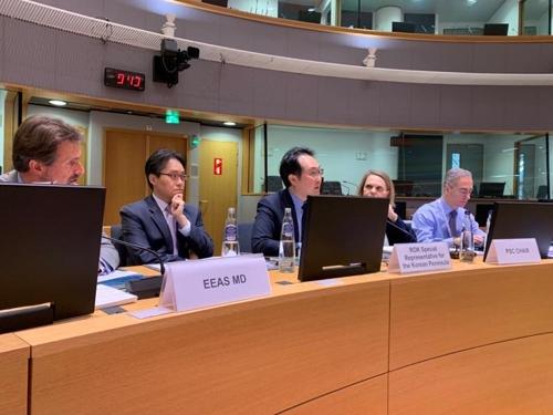 韓對朝代表與歐盟各國討論半島局勢