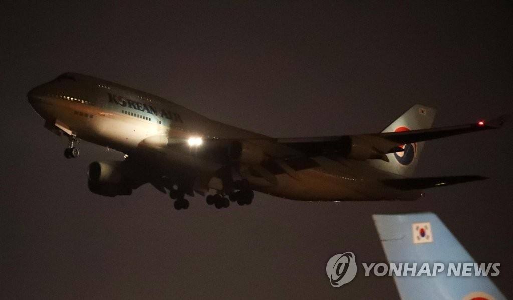 詳訊:南韓第二架撤僑包機啟程飛赴武漢