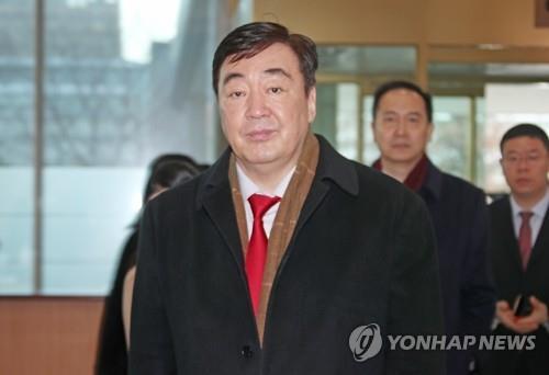 中國駐韓大使明就新冠病毒疫情舉行媒體吹風會