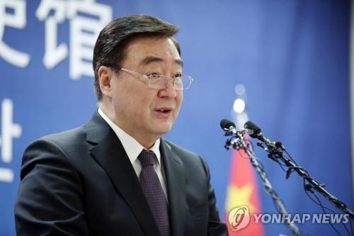 文在寅今接受中國新任駐韓大使遞交國書