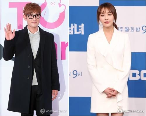 資料圖片:KangTa(左)和鄭柔美