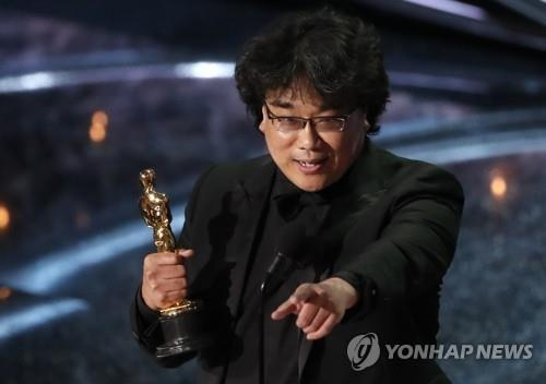 奉俊昊成奧斯卡最大贏家站上好萊塢頂峰