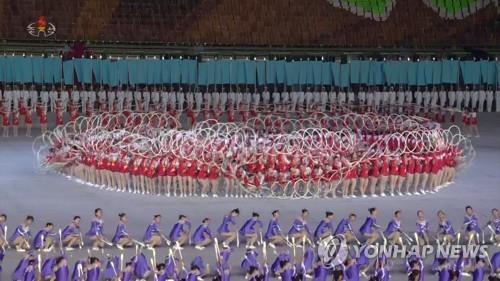 高麗旅行社:朝鮮今年光復節和建黨日將上演團體操