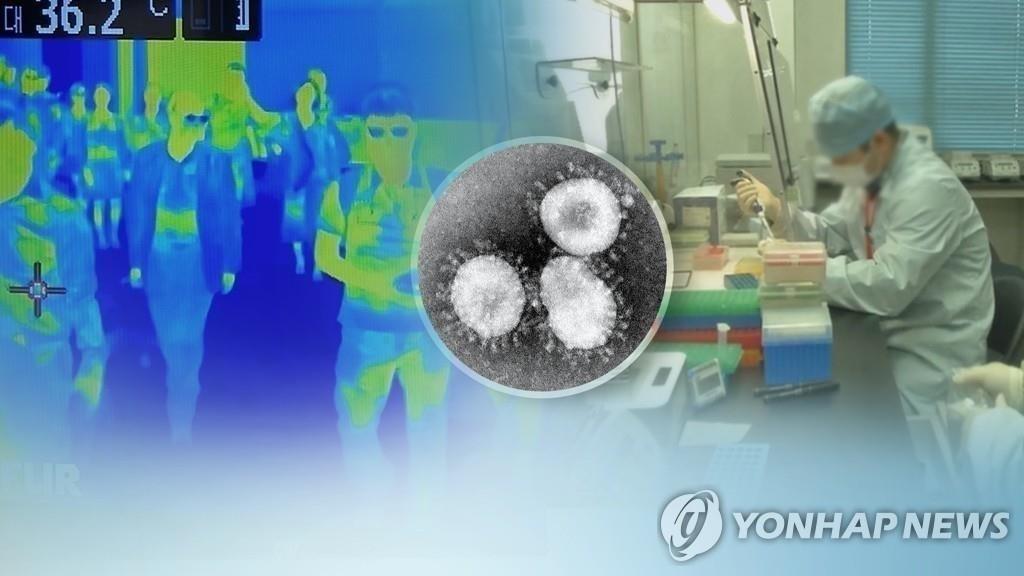 簡訊:南韓感染新冠病毒確診病例1261例 死亡12例