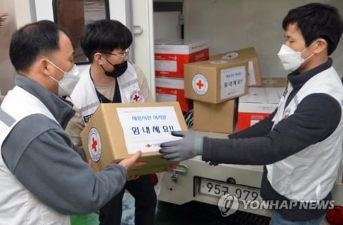 南韓各大企業集團捐款捐物助力抗疫