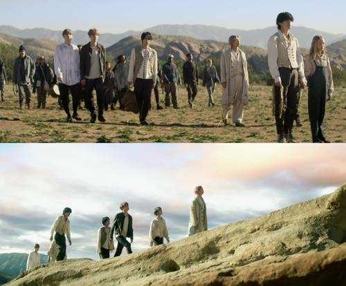 防彈少年團新輯主打歌《ON》第二版MV公開