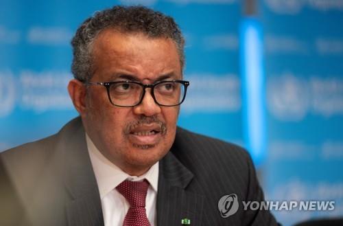 世衛組織總幹事:願推廣南韓抗疫經驗