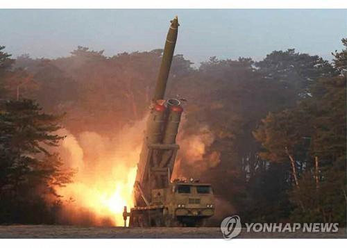 詳訊:朝鮮發射2枚疑似近程彈道導彈的飛行器