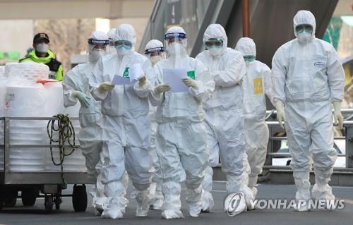 簡訊:南韓新增104例新冠確診病例 累計9241例