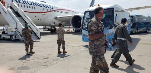 南韓撤僑包機從秘魯起飛