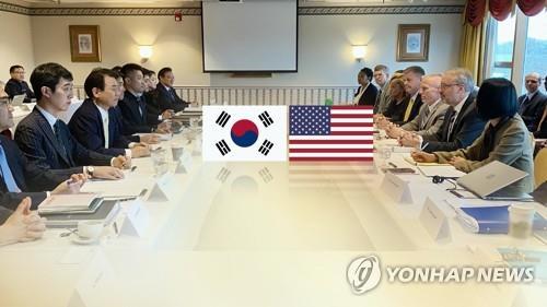 消息:韓美防衛費分擔談判初步達成協定