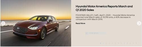 現代汽車3月在美銷量同比減43%