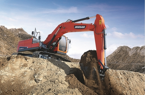 南韓鬥山工程機械在華售出32台挖掘機