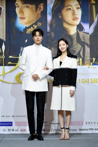 李敏鎬(左)和金高銀 SBS電視臺供圖(圖片嚴禁轉載複製)