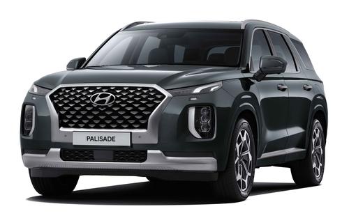現代汽車2020款帕利塞德面市
