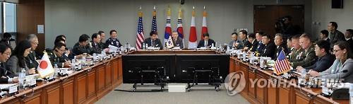 第12次韓美日安全會議線上舉行