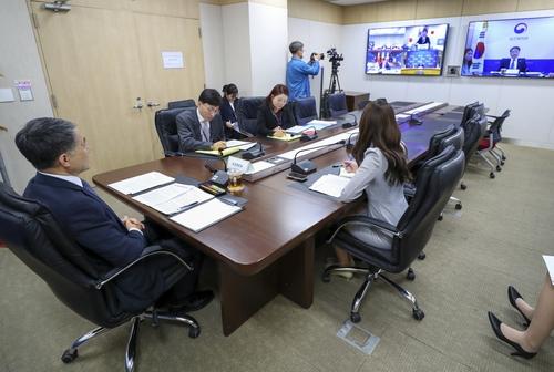 韓中日衛生部長開視頻會議共商抗疫