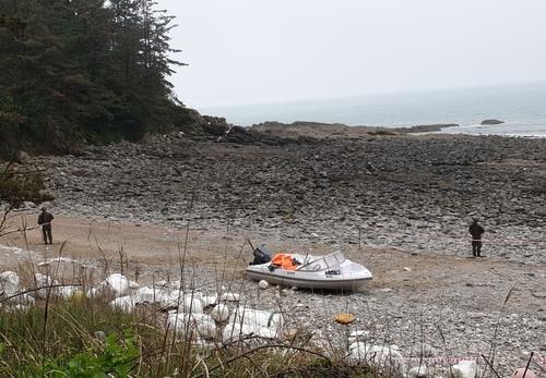 韓西海岸發現疑似中國偷渡船