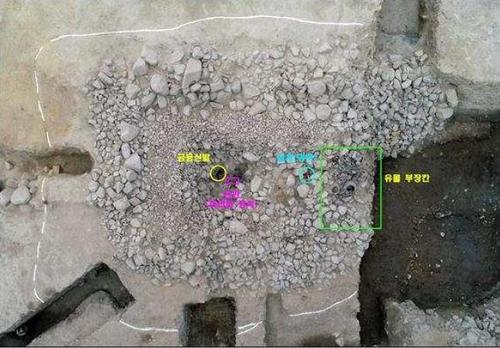 資料圖片:慶州市皇南洞120-2號新羅王朝墓葬遺址 南韓文化財廳供圖(圖片嚴禁轉載複製)