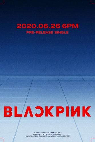 BLACKPINK將於26日攜單曲回歸