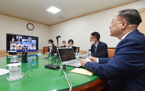 韓財長呼籲國際社會合力平息疫情和恢復經濟