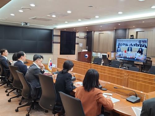 韓中外交官員舉行視頻會議討論韓中日三邊合作