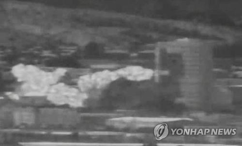 詳訊:韓青瓦臺對朝鮮爆破韓朝聯辦深表遺憾