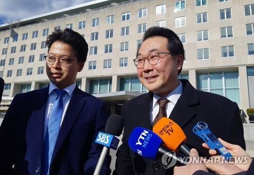 南韓對朝代表訪美 或為協調對朝措施
