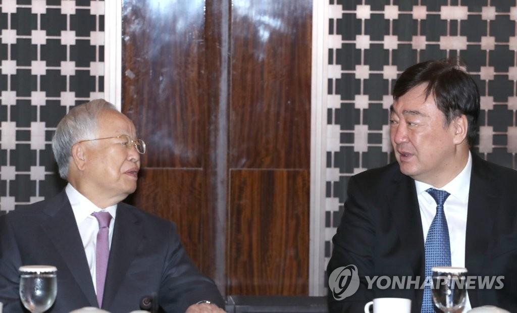 韓經濟團體邀請中國駐韓大使座談