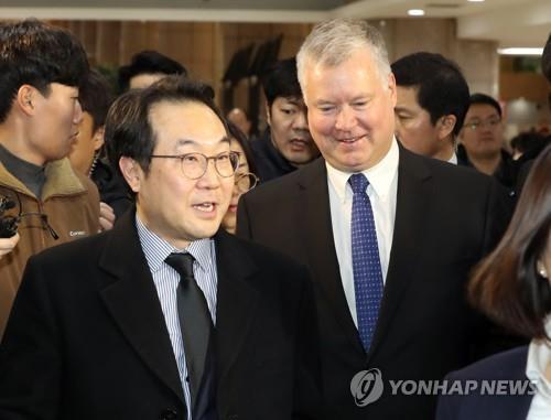 南韓對朝代表李度勳會晤美國副國務卿比根