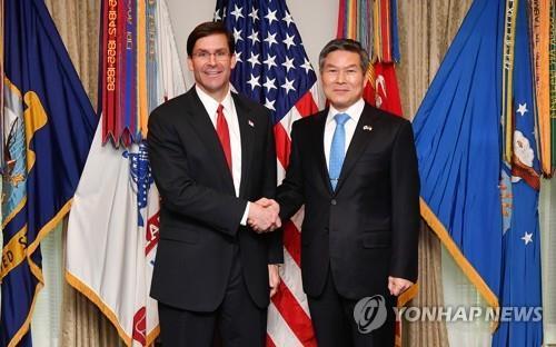 韓美防長將舉行視頻會議商討朝鮮問題