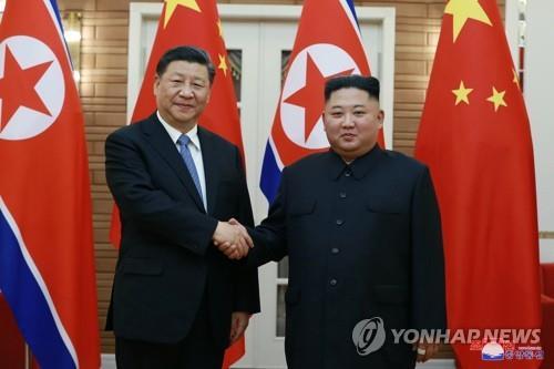 朝媒紀念金習會一週年強調朝中友誼