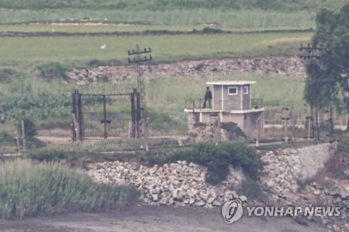 消息:朝軍小股兵力不斷進駐DMZ哨所