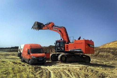 鬥山挖掘機5月在華銷量位居外企首位