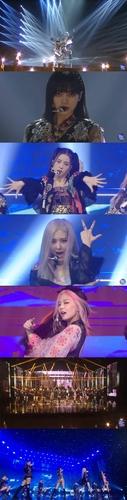 BLACKPINK出演美國王牌脫口秀公開新曲首舞臺 YG娛樂供圖(圖片嚴禁轉載複製)