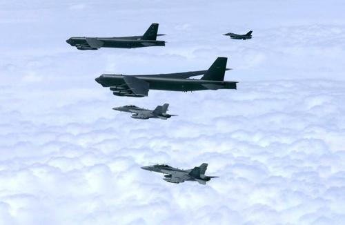 美軍在阿拉斯加部署三架戰略轟炸機 可赴韓作戰