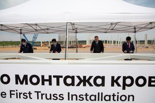 現代威亞俄羅斯發動機工廠正式開建