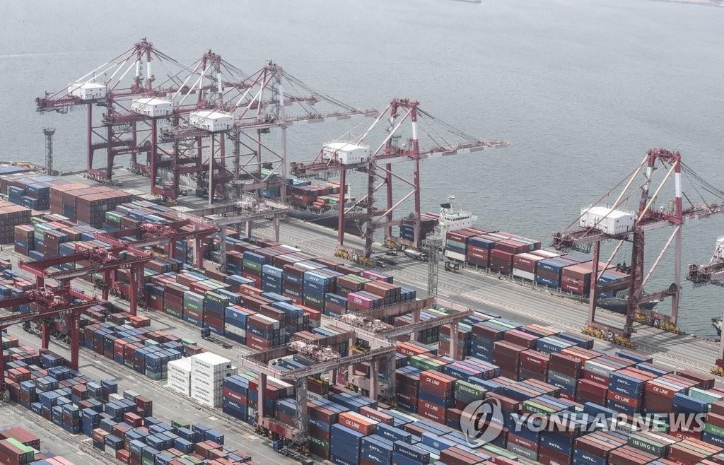 南韓6月出口同比下降10.9%