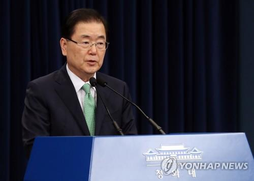 韓青瓦臺召集國安會常委會討論半島局勢
