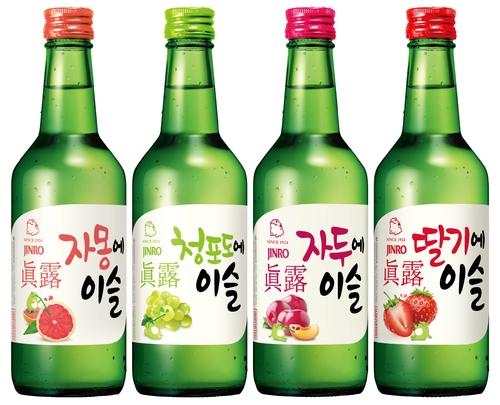 南韓真露燒酒今年上半年對華出口同比增58%