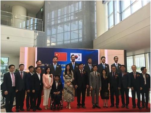 南韓忠南和中國遼寧守望交流展兩地連線同步舉行