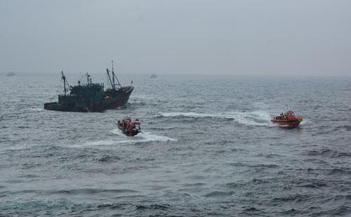 南韓海洋部和海警將合力打擊中國漁船非法捕撈
